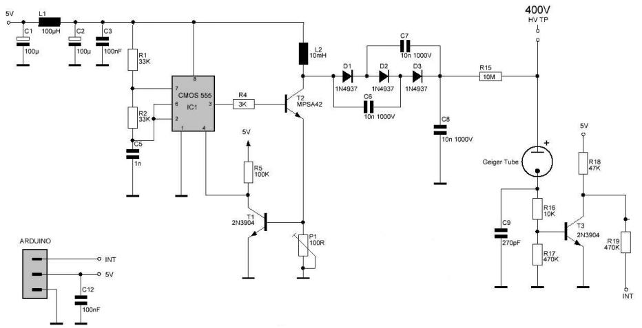 Схема дозиметра иии-1