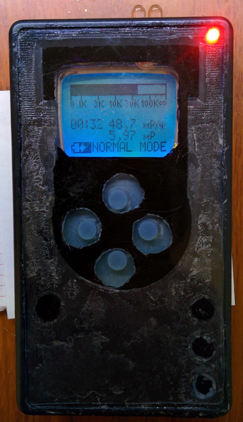 схема дозиметра из подручных деталей